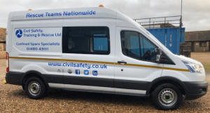 Civil Safety Training & Rescue Has A New Welfare Van