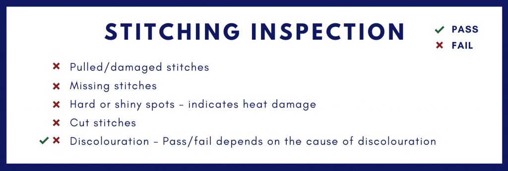 CivilSTR - Stitching Inspection